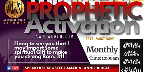 Free Prophecy and Miracle Service tickets