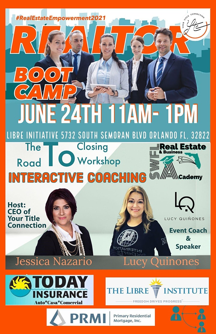 REALTOR BOOT CAMP -  THE ROAD TO CLOSING image