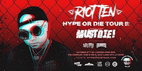 Riot Ten: Hype Or Die 2021 Tour tickets