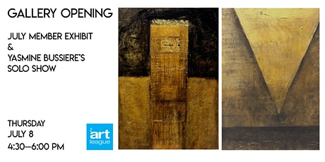 July Exhibits Opening Reception tickets