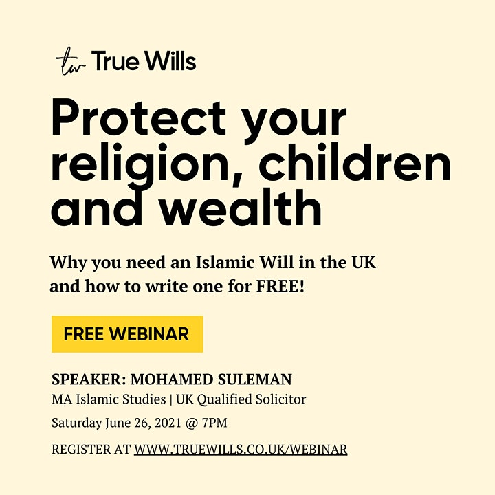 Why you need an Islamic Will in the UK image