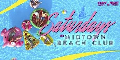 Saturdays At Midtown Beach Club tickets