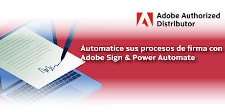 Automatice sus procesos de firma con Adobe Sign & Power Automate entradas