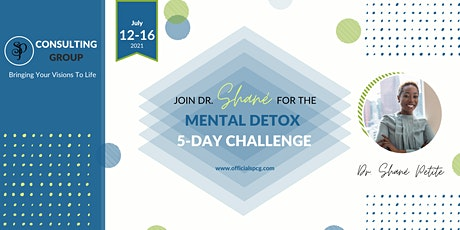 The POP Podcast Presents: The SPCG  Mental Detox Challenge 5-Day tickets