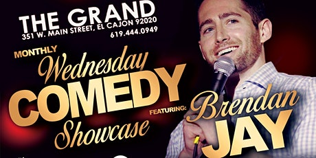The Grand Wednesday Monthly Comedy Showcase - 6/23 at  9 pm tickets