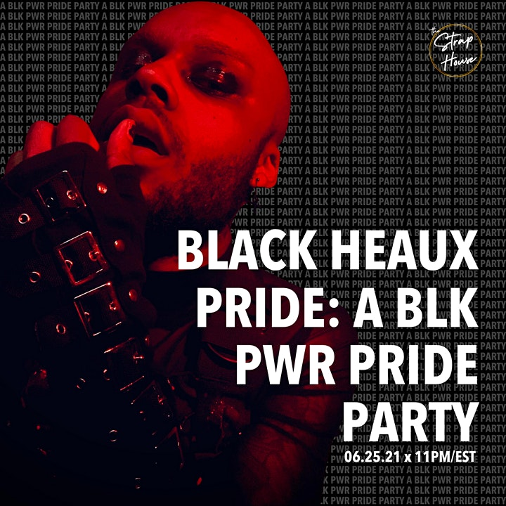 BLK PWR PRIDE  x THE STRAP HOUSE: CLOSING OUR BLACK SW SURVIVAL FUND! image