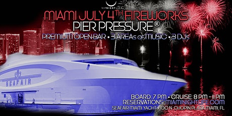 July 4th Miami Fireworks Cruise tickets