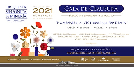 Temporada de Verano 2021: Gala de Clausura entradas