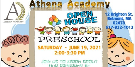 Athena Academy Open House tickets
