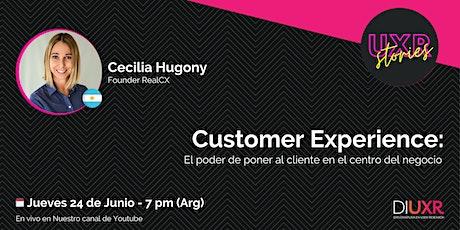 #9 UXR Stories | CX: El poder de poner al cliente en el centro del negocio entradas