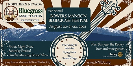 Bowers Mansion Bluegrass Festival tickets