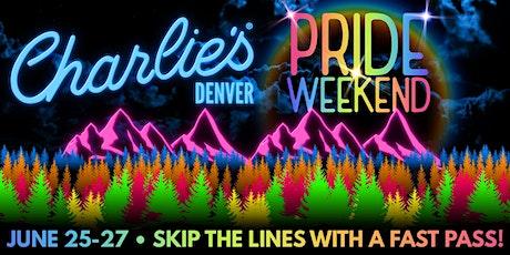 Charlie's Denver Pride Weekend tickets