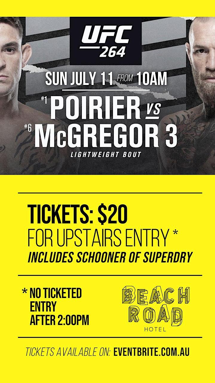UFC 264 Lightweight bout Poirier v McGregor image
