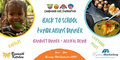 Cambodian Kids Foundation Charity Dinner tickets