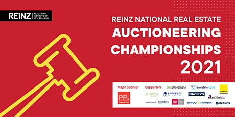 2021 REINZ National Real Estate Auctioneering Championships tickets