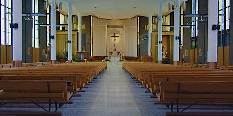 8 AM Sunday Mass (in-MHC Hall) tickets