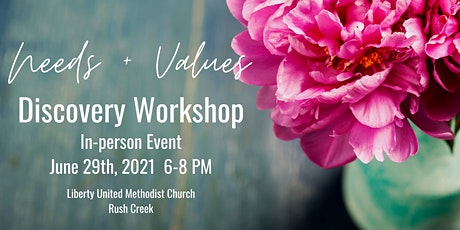 Needs and Values Discovery Workshop tickets
