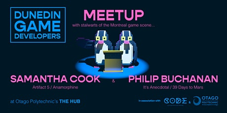 June Dunedin Game Dev Meetup - with special guests! tickets