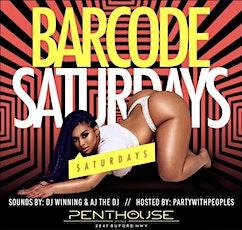 Barcode Saturdays at Penthouse Atlanta #1 Saturday Destination tickets