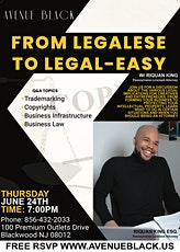 From Legalese to Legal-Easy w/ Lawyer Riquan King ESQ. tickets