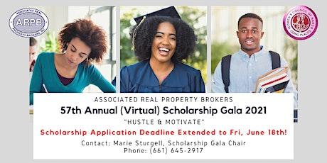 ARPB Annual (Virtual) Scholarship Gala 2021 tickets