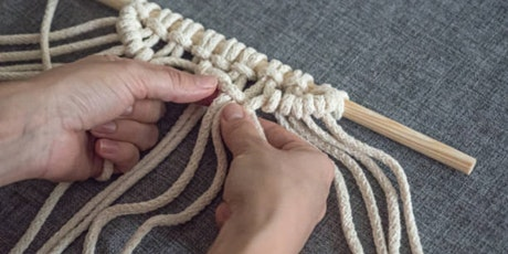 Macrame workshop for youth tickets