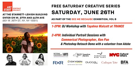 Art Start See Me Because: Saturday June 26th Creative  Sessions tickets