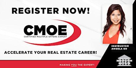 Certified Multiple Offers Expert (CMOE) - Zoom Class (Angela So) tickets