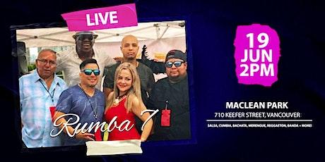 Rumba 7 FREE Concert tickets