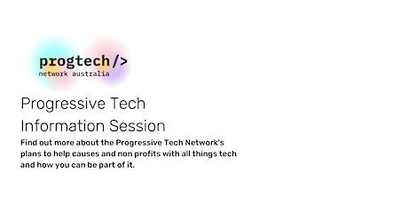 Progressive Tech Network Information Session tickets