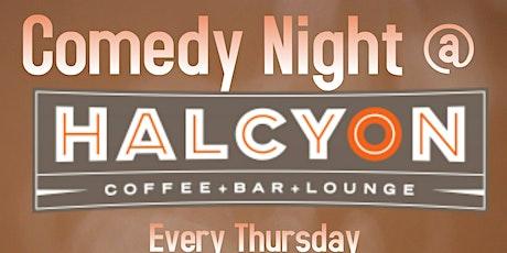 Comedy Night Halcyon Mueller tickets