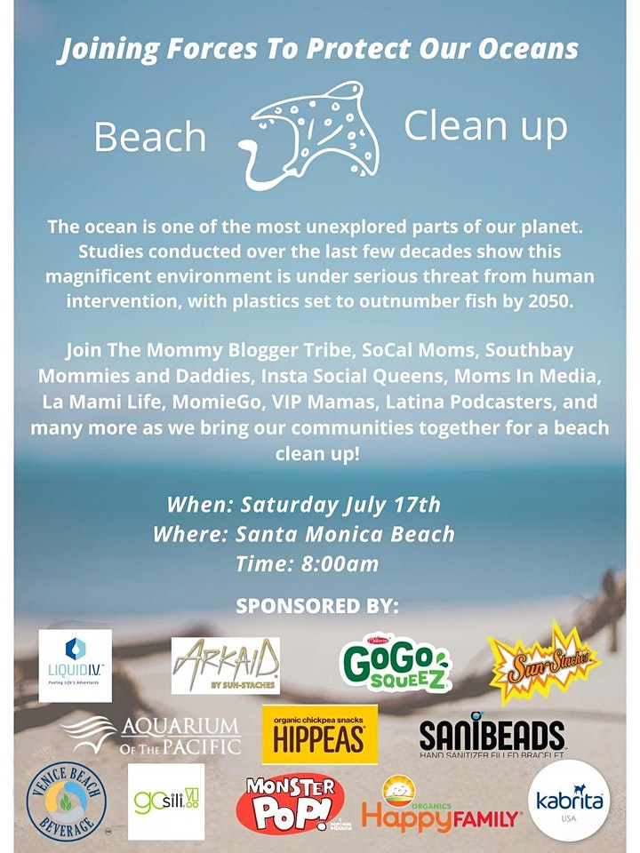 Beach Cleanup:  Joining Forces to Protect Our Oceans image