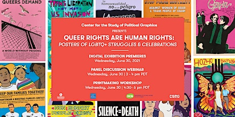 Queer Rights Are Human Rights: Printmaking Workshop tickets