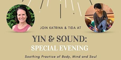 Yin & Sound: Self-care Saturday tickets