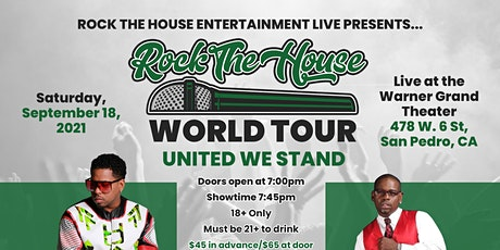 Rock The House World Tour tickets
