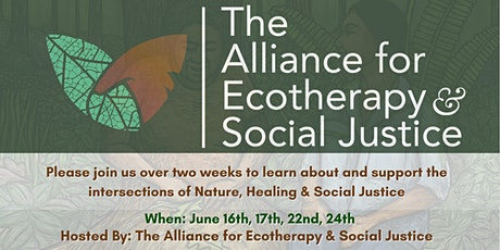 Ecotherapy & Social Justice Dialogues tickets