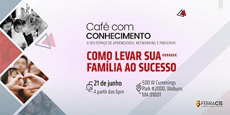 Café com Conhecimento tickets