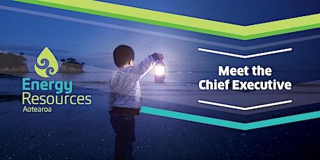 Meet the Chief Executive: Marc England, Genesis Energy tickets