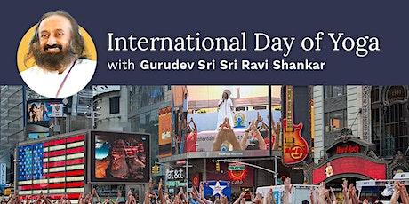 Celebrate International Day Of Yoga With Gurudev Sri Sri Ravi Shankar tickets
