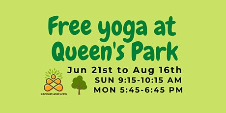 Free Yoga at Queen's Park tickets