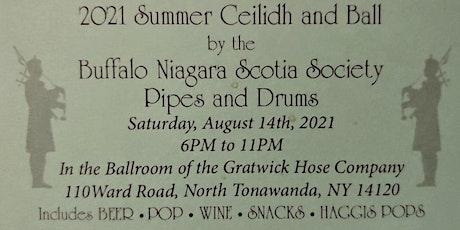 Summer Ceilidh and Ball tickets