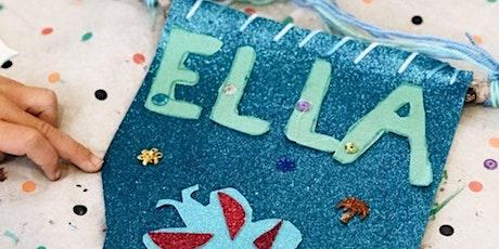 Calming Craft Workshops  - Name Banner - Winter Wellness Festival tickets