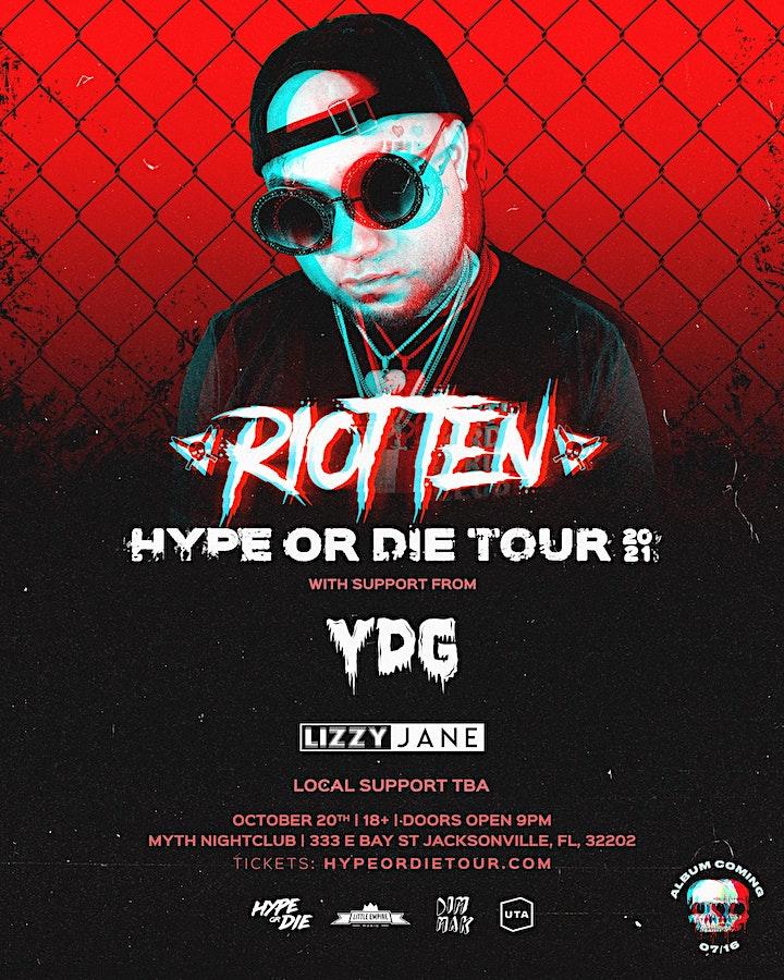 Jacksonville // Riot Ten Hype Or Die Tour image