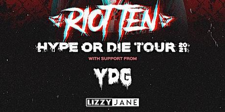 Jacksonville // Riot Ten Hype Or Die Tour tickets