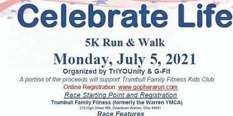 Celebrate life  5k run/walk tickets