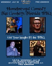 Homebrewed Comedy at Fat Cowboys Fireside BBQ tickets