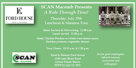 SCAN Macomb Presents  A Ride Through Time! tickets