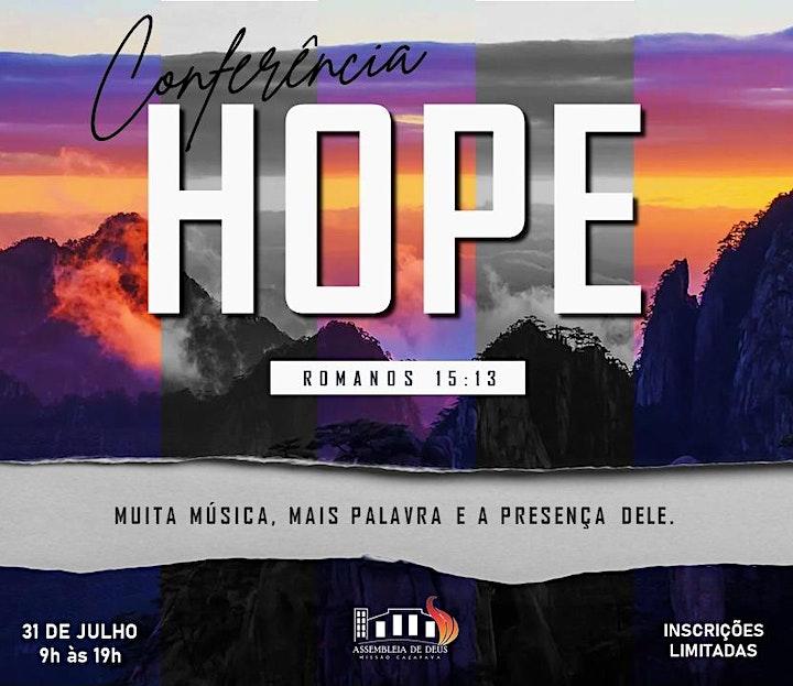 Imagem do evento Conferência HOPE 2021