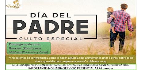 """SERVICIO ESPECIAL """"DIA DE LOS PADRES"""" FRUTO DE LA VID GURABO boletos"""