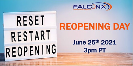 FalconX Reopening Day tickets